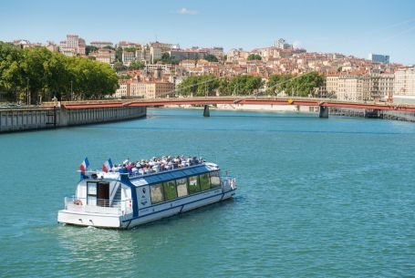 Lyon : Guided Sightseeing Cruise